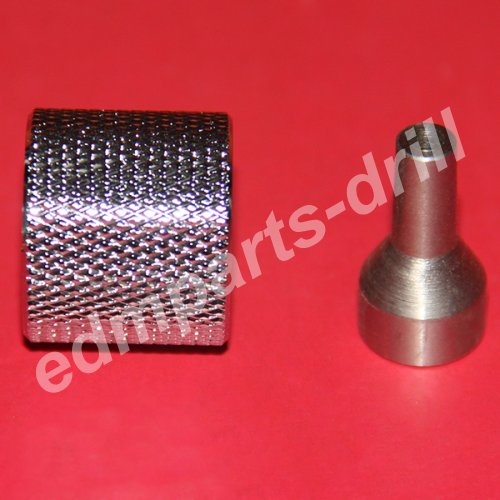 Drill chuck, drill chuck accessory, drill chuck for small hole edm