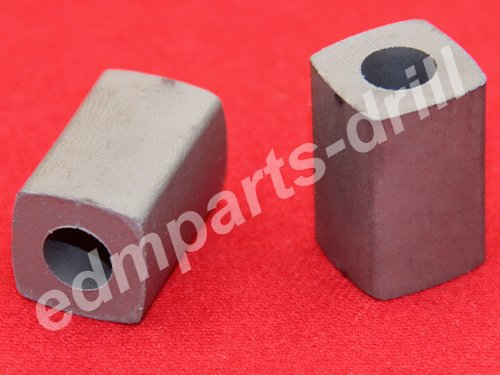 Carbide feed contact for High speed wire edm 12x12x19mm hole 6mm