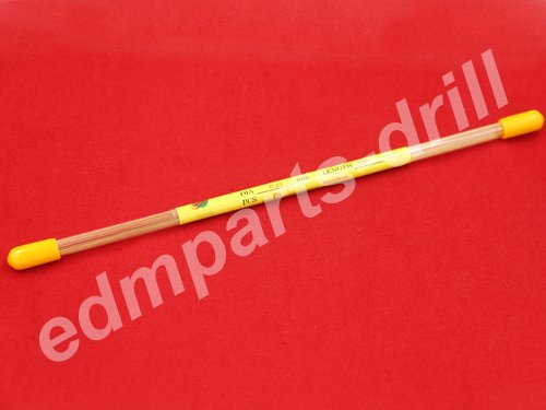 Electrode brass tube for small hole edm Ø0.15x200